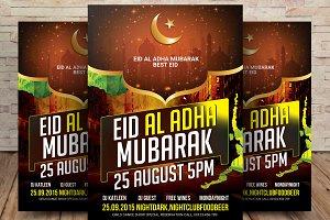 Muslim Holiday Eid Al-Adha Greeting
