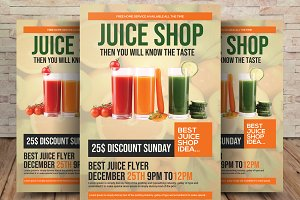 Fruit Juice Shop/ Flyer Template
