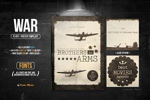 War - Flyer/Poster