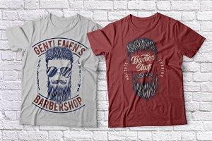 Barbershop t-shirts set