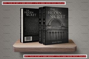 Book Cover Template 1