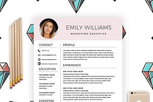 Resume Template & FREE Cover Letter