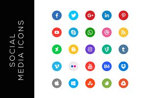Social Media Icons Set 2