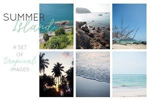 Summer Island Social Media Pack