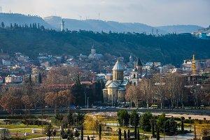 Tbilisi cityscape