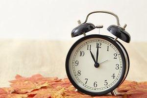 Daylight Savings Time Concept