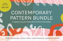 Contemporary Pattern Bundle 60% Off by  in Patterns