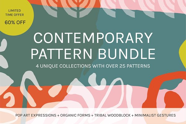 Patterns - Contemporary Pattern Bundle 60% Off