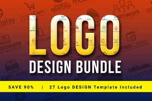 90% OFF | Logo Design Bundle