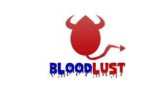 Bloodlust Logo Template