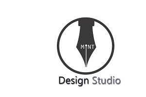 Mint Design Studio Logo Template