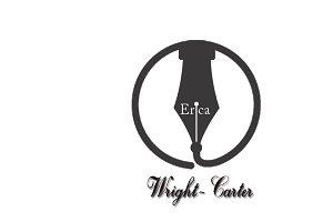 Erica Wright Carter Logo Template