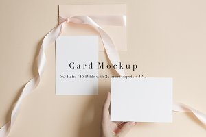 Modern Soft Color Stationery Mockup