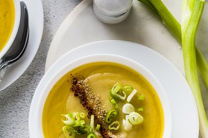 vegetable cream soup from vegetables
