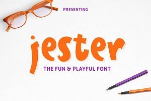 Jester Display Font