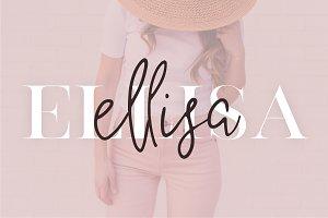 Ellisa | Modern Font Duo