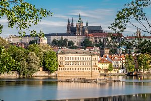 Prague, Lesser Town and Prague Castl