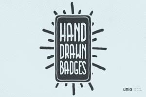 Hand-Drawn Badges