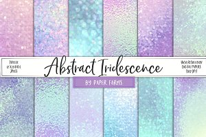 Iridescent bokeh backgrounds