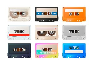 Detailed audio cassettes