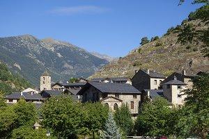 Ordino village in Andorra