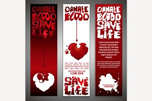 World Blood Donor Concept