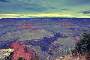South Rim Grand Canyon, Arizona, US.