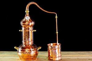 Copper alembic