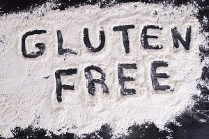 Written in gluten free flour