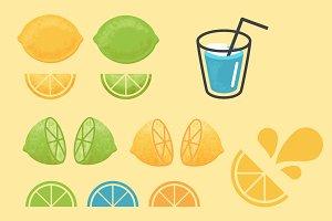 Summer Citrus Graphics