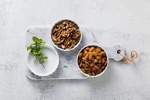 Preparation of vegan mini tartas fro