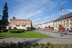 City of Radom in Poland