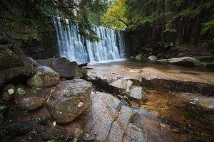 Wild Waterfall in Karpacz