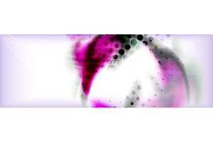 Abstract background holographic