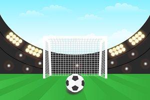 Background Stadium football