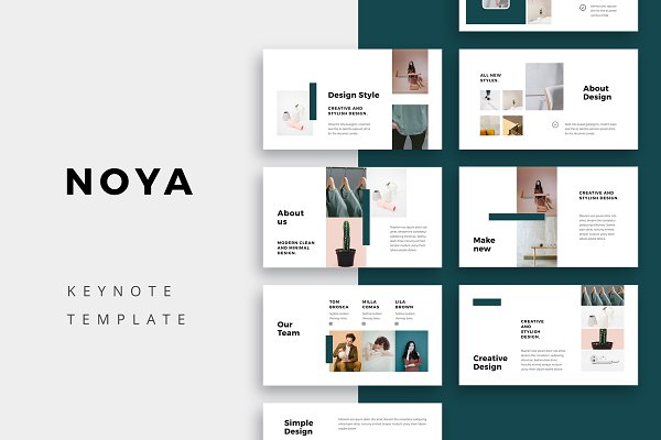 Presentation Templates: PixaSquare - NOYA - Keynote Template