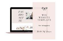 WIX Website Template   3425