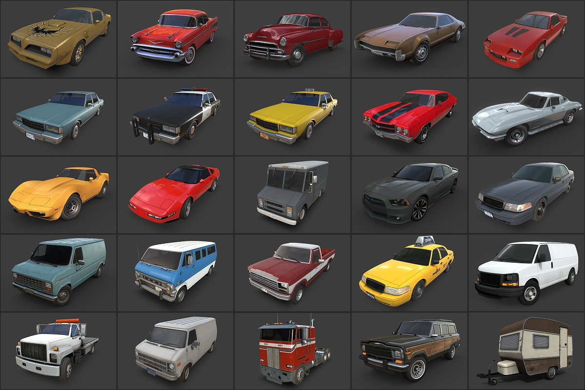 American Cars Ultimate Collection