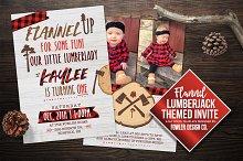 Flannel Lumberjack / Lady Invite