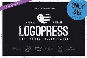 Logopress - Minimal Vintage Styles