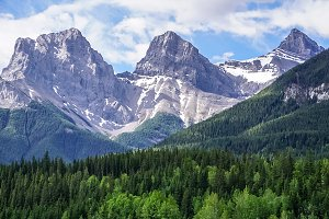 Three Sisters Mtn-Canmore, Alberta
