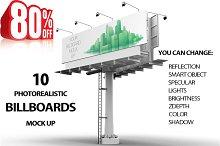 Bundle Billboard MockUps 10 views