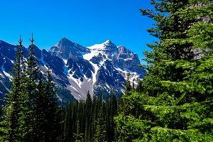 Tea House Trail-Banff Alberta Canada