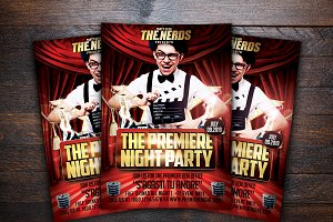 The Premiere Party Flyer