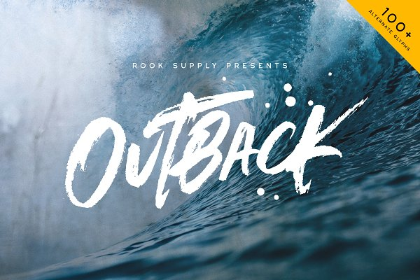 Fonts: Greg Nicholls - Outback Brush Font