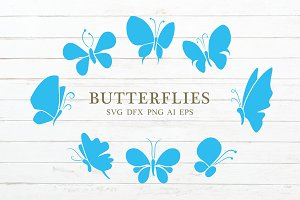 Butterflies Vector Icon