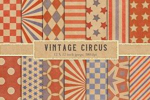 Vintage Circus Patterns