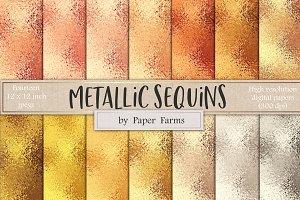 Metallic sequins backgrounds