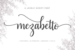 Mezabetto | Elegant Script Font
