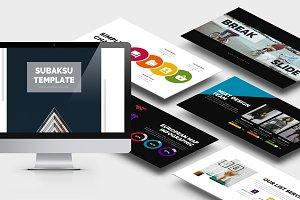 Subaksu : Minimal Studio Powerpoint